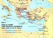 Paul's Third and Fourth Journey