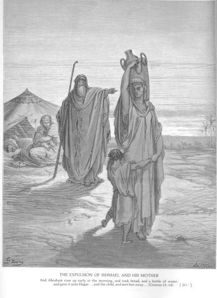 Gen21A Abraham Sends Hagar and Ishmael Away.jpg
