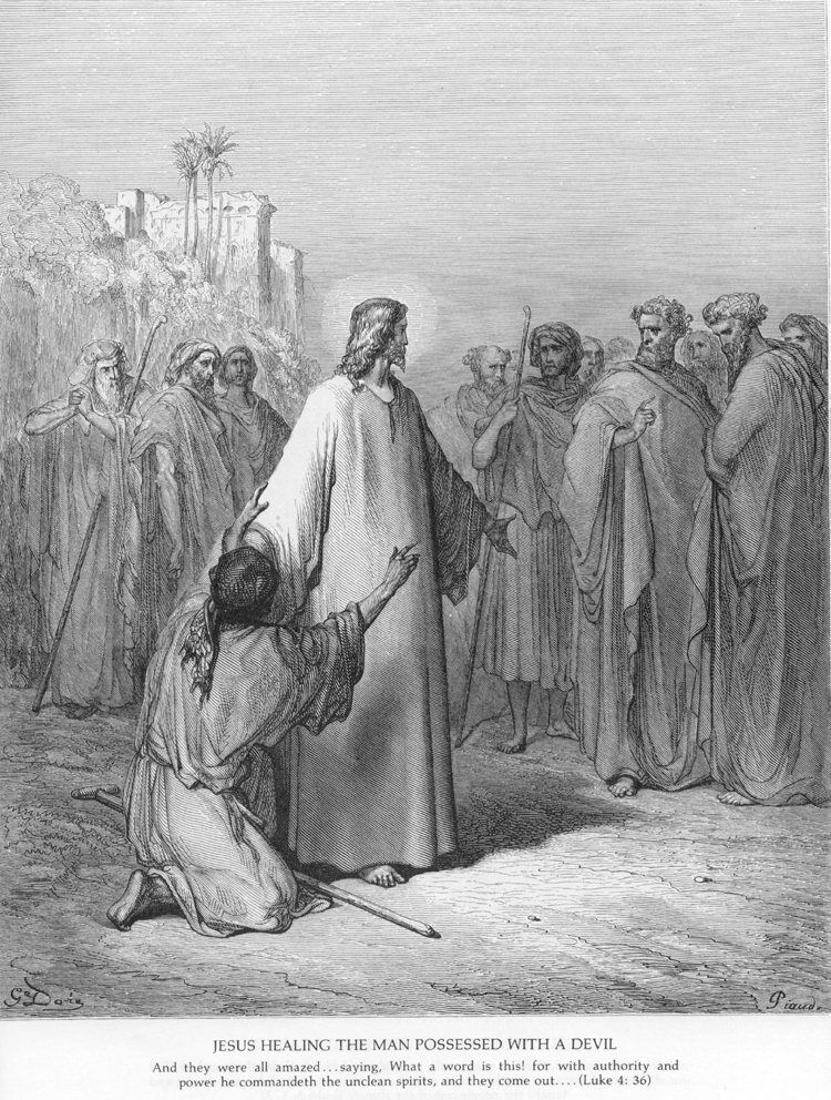 Luke04b Jesus Heals a Demoniac.jpg