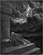Dore 12 2Kings02 Elijah Ascends to Heaven