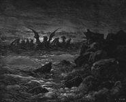 Dore 27 Dan07 Daniels Vision of the Four Beasts