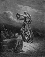 Dore 69 Judith13 Judith Shows the Head of Holofernes