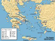 Aegean natural resources