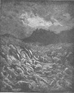 Dore 14 2Chron20 The Ammonite and Moabite Armies Destroyed