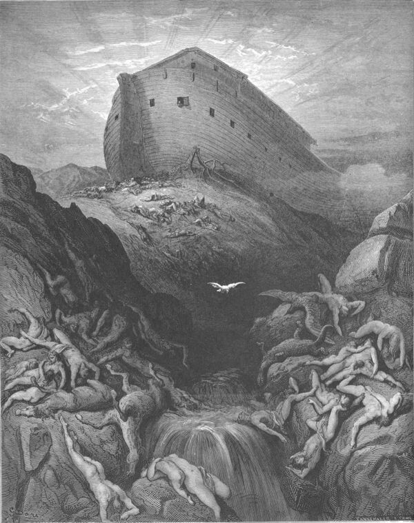 Dore 01 Gen08 A Dove Is Sent Forth from the Ark.jpg