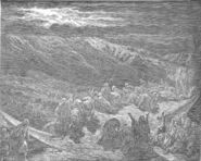 Dore 02 Exod19 The Giving of the Law on Mount Sinai
