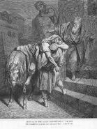 Luke10c Arrival of the Good Samaritan