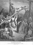 Matt27a The Cross Is Lifted Up