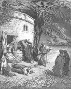 Dore 18 Job01 Job Hears of His Misfortunes