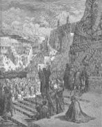 Dore 15 Ezra07 Artaxerxes Grants Freedom to the Jews