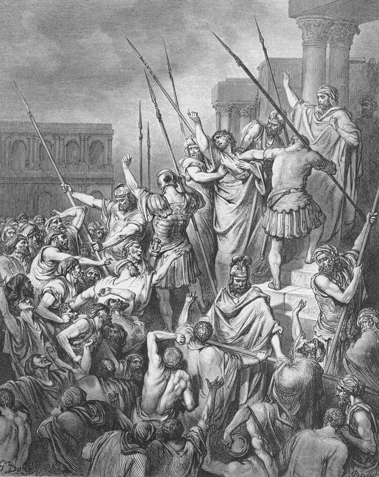 Dore 44 Acts21 Paul Is Rescued from the Multitude.jpg