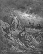 Dore 44 Acts27 Paul Is Shipwrecked