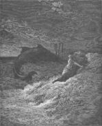 Dore 32 Jonah02 Jonah Is Spewed Forth by the Whale