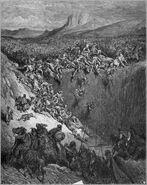 Dore 07 Judg15 Samson Destroys the Philistines