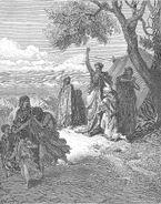 Dore 01 Gen09 Noah Curses Ham and Canaan