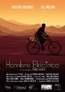 Afiche Hombre eléctrico