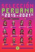 Selección peruana 2015-2021