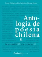 Portada Antología de poesía chilena. Vol.2