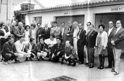 Alfonso Calderón y grupo por Jorge Aravena Llanca 1966.png