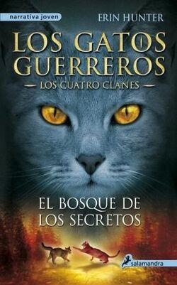 Los gatos guerreros. El bosque de los secretos.jpeg