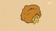 Boules frites de macaroni au fromage