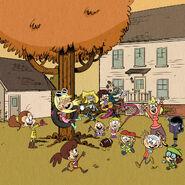 Vivez L'automne avec les Loud !