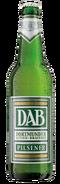 DAB Pilsener Bier Flasche
