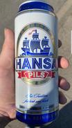 Hansa Pils Bierdose