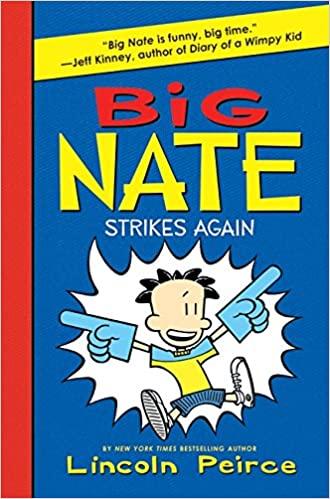 ComicRater's Top 8 Big Nate Novel Books!