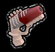 Skeleton Gun Outlined