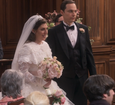 Sheldon and Amy married