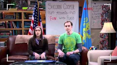 The Big Bang Theory - Fun with Flags