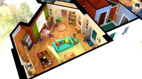 Big Bang Theory 3D Model