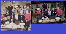 Cast collage