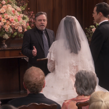 Aws150 Mark Hamill weds Amy and Sheldon.png