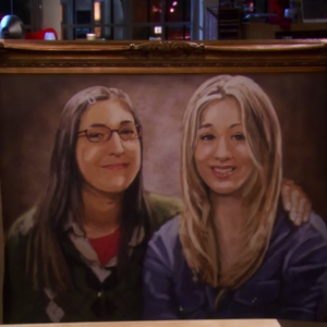 Painting Of Penny And Amy The Big Bang Theory Wiki Fandom