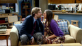 Almost a second kiss then Sheldon