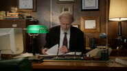 Dr. Linkletter in his office 3x17