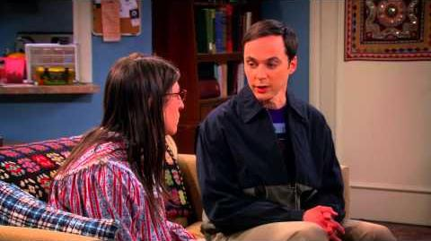 Sheldon rubs Amy's chest then gives her a bath and spanks her - The Big Bang Theory