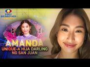 Ang Unique-a Hija Darling ng San Juan--AMANDA ZAMORA!