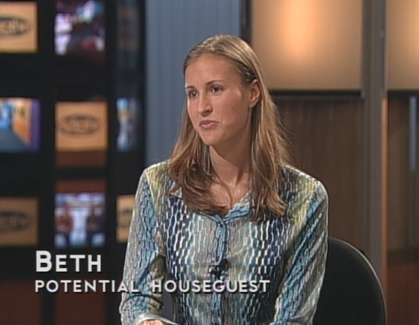 Beth (BB1 Potential Houseguest)