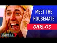 SPICY FEISTY CARLOS - Meet The Housemate - Big Brother Australia
