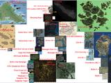 Video game maps comparison