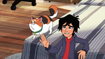 Hiro with Mochi