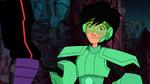 Hiro in Wasabi's armor