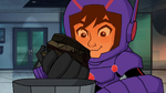 Hiro takes energy amplifier