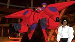 Wasabi Hiro and Baymax