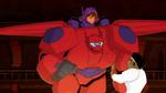 Hiro and Baymax save Wasabi