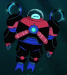 Baymax Submarine Armor