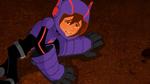Hiro is hurt